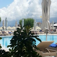 Photo taken at Creta Maris Beach Resort by alex P. on 5/14/2013
