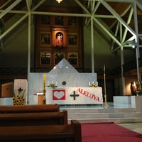 Photo taken at Catedral De Valdivia by Javier M. on 3/31/2013
