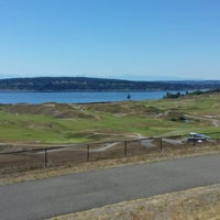 Photo taken at Chambers Bay Golf Course by Taylor S. on 6/30/2013
