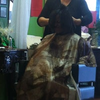 Photo taken at Monica's Hair Salon by Keilia (. on 12/28/2012