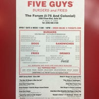 Photo taken at Five Guys by Christian N. on 4/13/2016