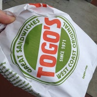 Photo taken at TOGO'S Sandwiches by Mike n Joi on 7/16/2014