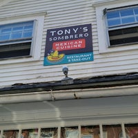 Photo taken at Tony's Sombrero Mexican Cuisine by Casey H. on 8/4/2014