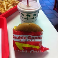 Photo taken at In-N-Out Burger by Michael U. on 1/18/2013
