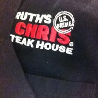 Photo taken at Ruth's Chris Steak House by Brian M. on 5/3/2013
