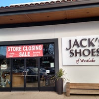 Photo taken at Jack's Shoes of Westlake by Frank M. on 1/21/2017