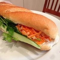 Photo taken at Saigon Vietnamese Sandwich Deli by Geoffroy B. on 11/2/2013