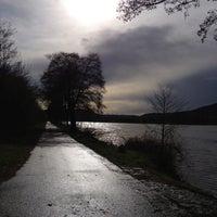 Photo taken at Moselufer by Svenja J. on 4/12/2013