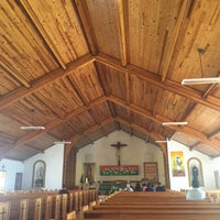 Photo taken at Iglesia de Nuestra Señora de Lourdes by Jeff R. on 7/19/2015