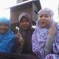 Photo taken at Masjid Besar BAITURRAHIM Dampit Malang by mutiah a. on 8/8/2013