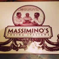 Photo taken at Massimino's Cucina Italiana by Kate Y. on 7/23/2013