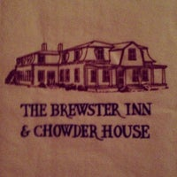 Photo taken at The Brewster Inn & Chowder House by Kate Y. on 5/26/2013