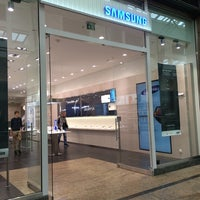 Photo taken at Samsung by Jens M. on 4/9/2014