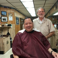 Photo taken at Sigfrido Barber Shop by Thomas W. on 7/28/2016