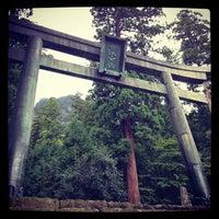 Photo taken at 妙義神社 by Yuka N. on 9/25/2012