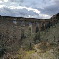Photo taken at Ponte Delle Torri by Thingumajig A. on 1/4/2016