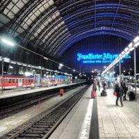 Photo taken at Frankfurt (Main) Hauptbahnhof by Michael V. on 4/12/2013