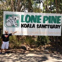 Photo taken at Lone Pine Koala Sanctuary by Ahmed ا. on 11/15/2012