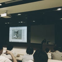 Photo taken at Lecture Theatre Room 2 (C1-02) by Cheryl Q. on 10/4/2013