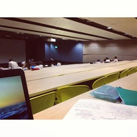 Photo taken at Lecture Theatre Room 2 (C1-02) by Cheryl Q. on 7/23/2013