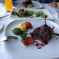 Photo taken at Topaz Restaurant by Esin G. on 4/24/2013