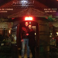 Photo taken at Restaurante Petit Brasil by Cesar N. on 6/23/2013