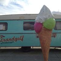 Photo taken at Amagerstrand Minigolf by Chris Z. on 10/7/2012