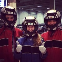 Photo taken at CPH Gokarts by Chris Z. on 2/25/2014