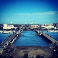 Photo taken at Holiday Inn Charleston-Riverview by Leslie I. on 3/10/2013