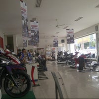 Photo taken at Sentral Yamaha Jember by Sugeng S. on 3/20/2014