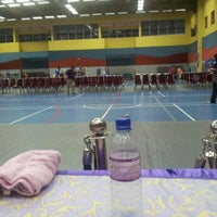 Photo taken at Pusat Sukan UiTM by Anis S. on 9/23/2012