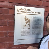 Photo taken at Babe Ruth Birthplace and Museum by Jason V. on 7/8/2016