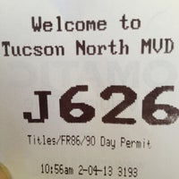 Photo taken at Arizona DMV by Lynette E. on 2/4/2013
