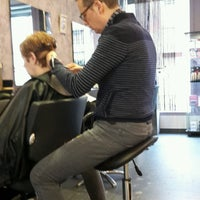 Photo taken at Bert's Coiffure by Annick P. on 12/22/2016