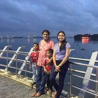 Photo taken at Marine Drive by Praveen Ks on 10/10/2015