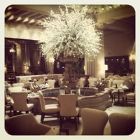 Photo taken at Palm Court at The Drake Hotel by Jeffrey H. on 3/27/2013