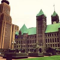 Photo taken at Minneapolis City Hall by Jeffrey H. on 5/17/2013