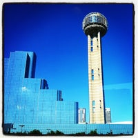 Photo taken at Reunion Tower by Jeffrey H. on 5/7/2013