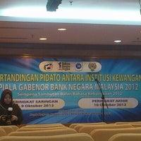Photo taken at Dewan Bahasa dan Pustaka (DBP) by Seth H. on 10/10/2012