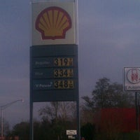 Photo taken at Shell by Chad A. on 1/12/2013