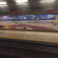 Photo taken at Metro Olivais [VM] by Fernando on 12/20/2015