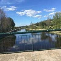 Photo taken at Ponte de Sôr by Fernando on 4/25/2016