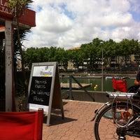 Photo taken at Melrose Café by Stefan B. on 7/2/2014
