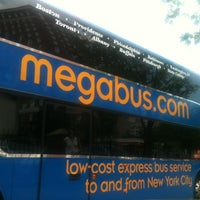 Photo taken at Megabus Stop Providence by Christopher R. on 7/16/2012