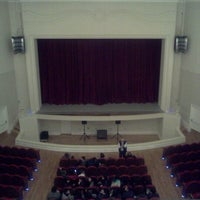 Photo taken at Teatro Municipal José Bohr by Sintia S. on 10/24/2012