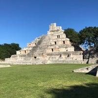 Photo taken at Zona Arqueológica Edzná by Rafael M. on 11/18/2017