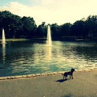 Photo taken at Bowne Park by JayJae H. on 9/13/2013