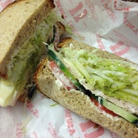 Photo taken at Jimmy John's by Caitlin M. on 12/4/2012