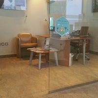 Photo taken at البنك السعودي الفرنسي فرع الحمراء by Dr.emmmy . on 4/25/2016