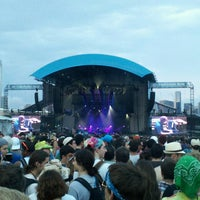 Photo taken at Huntington Bank Pavilion at Northerly Island by Rich L. on 7/21/2013